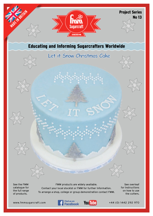 Let it Snow Cake