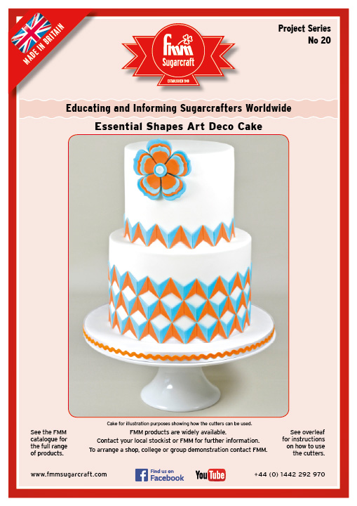 Essential Shapes Art Deco Cake