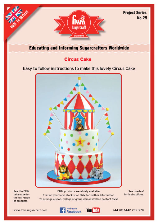 Circus Cake - FMM Sugarcraft Project No. 25