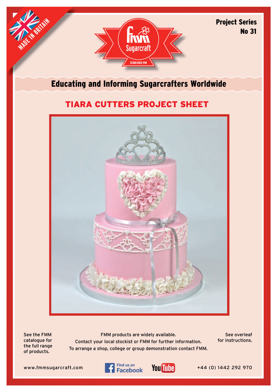 How to use the FMM Tiara Cutters