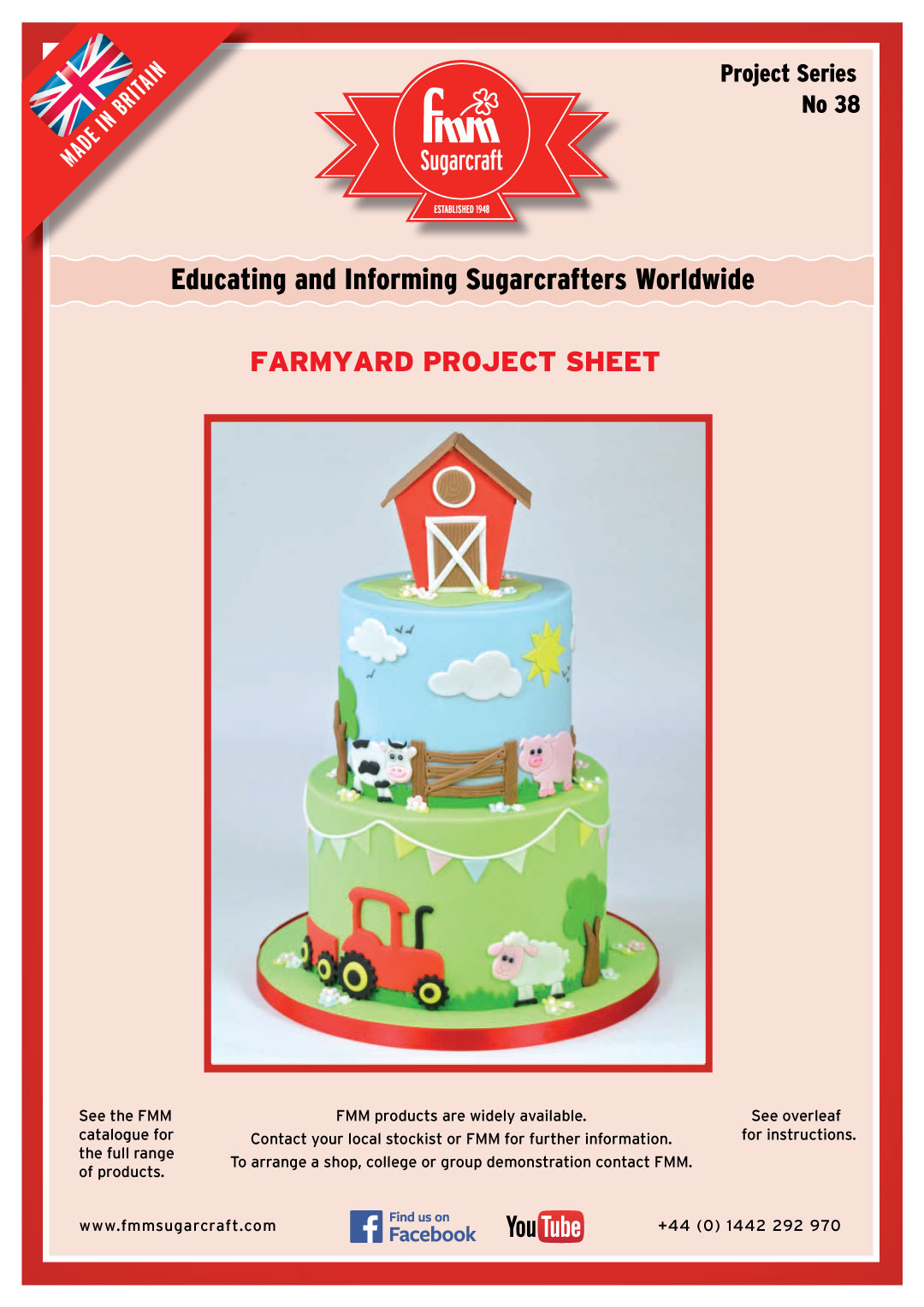 How to make a Cute Farmyard Cake