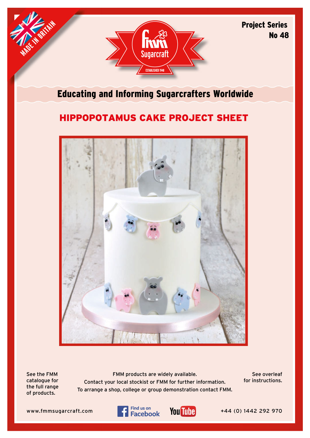 How to make a Hippo Cake