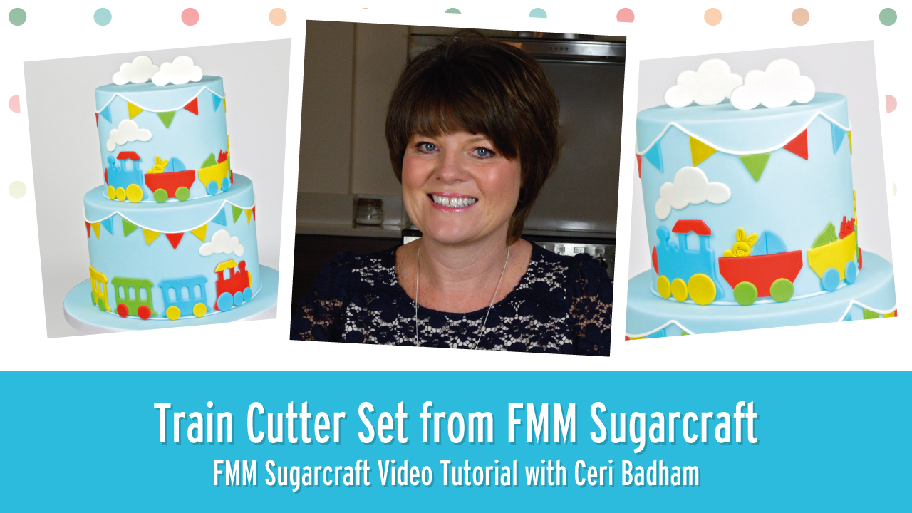 How to use the Train Cutter from FMM Sugarcraft