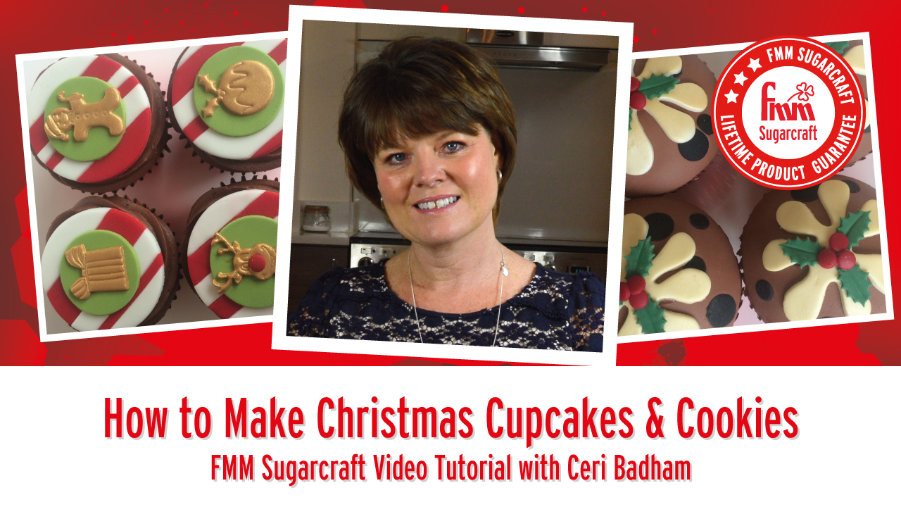 How to make Christmas Cupcakes and Cookies using FMM Tools & Accessories