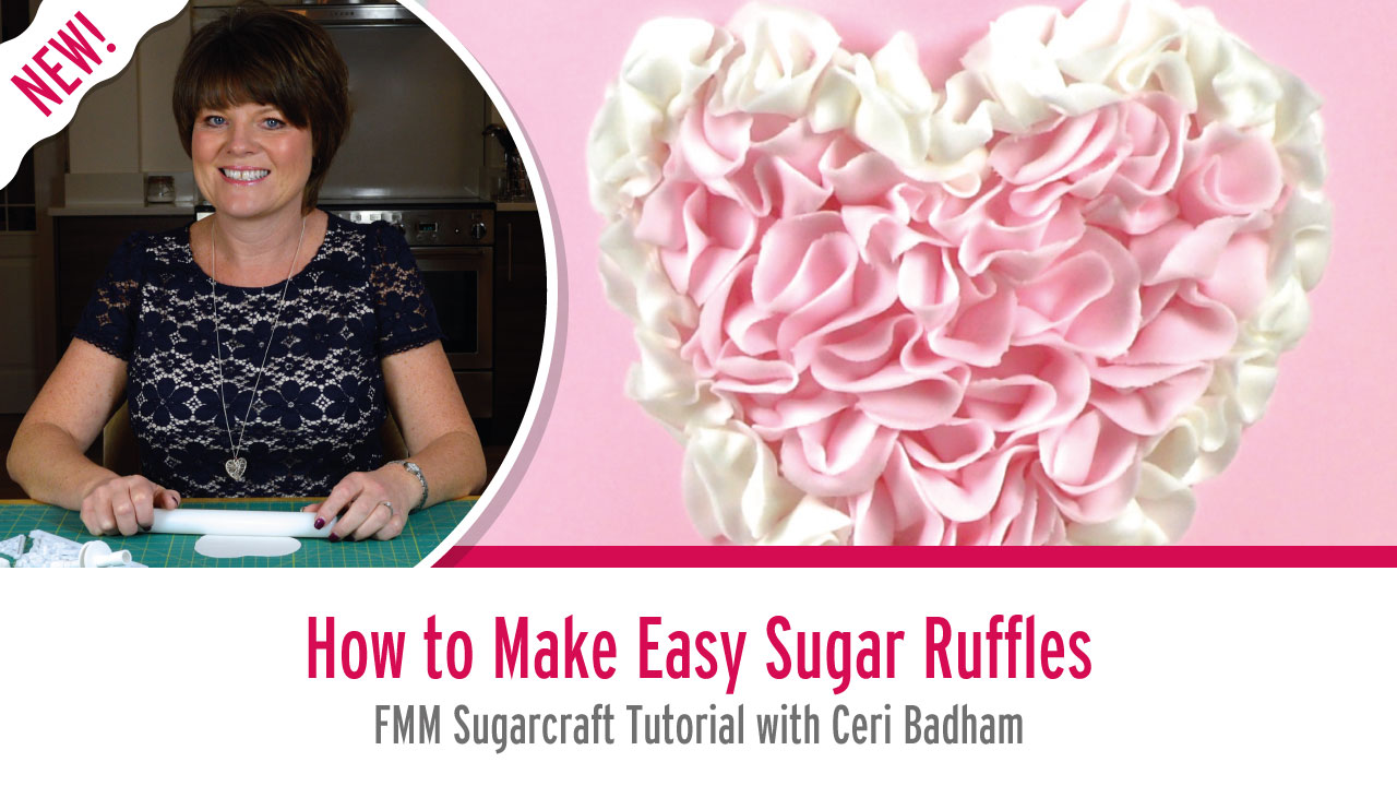How to Make Easy Sugar Ruffles with Ceri Badham