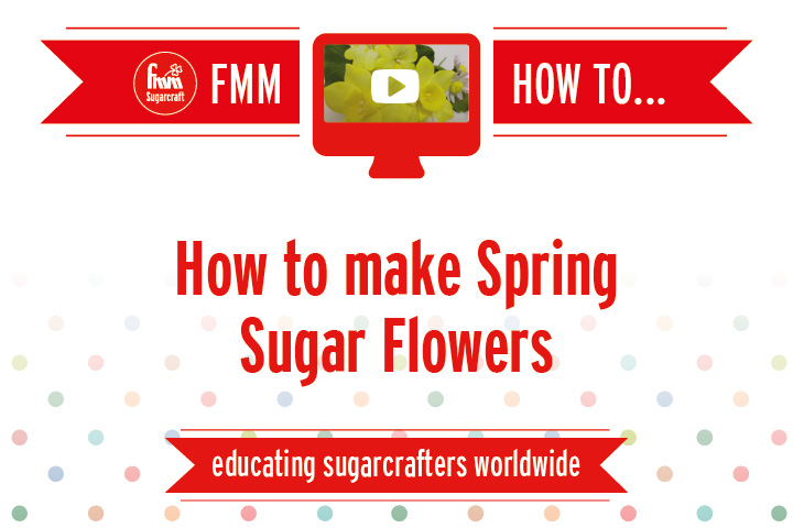How to Make Spring Sugar Flowers