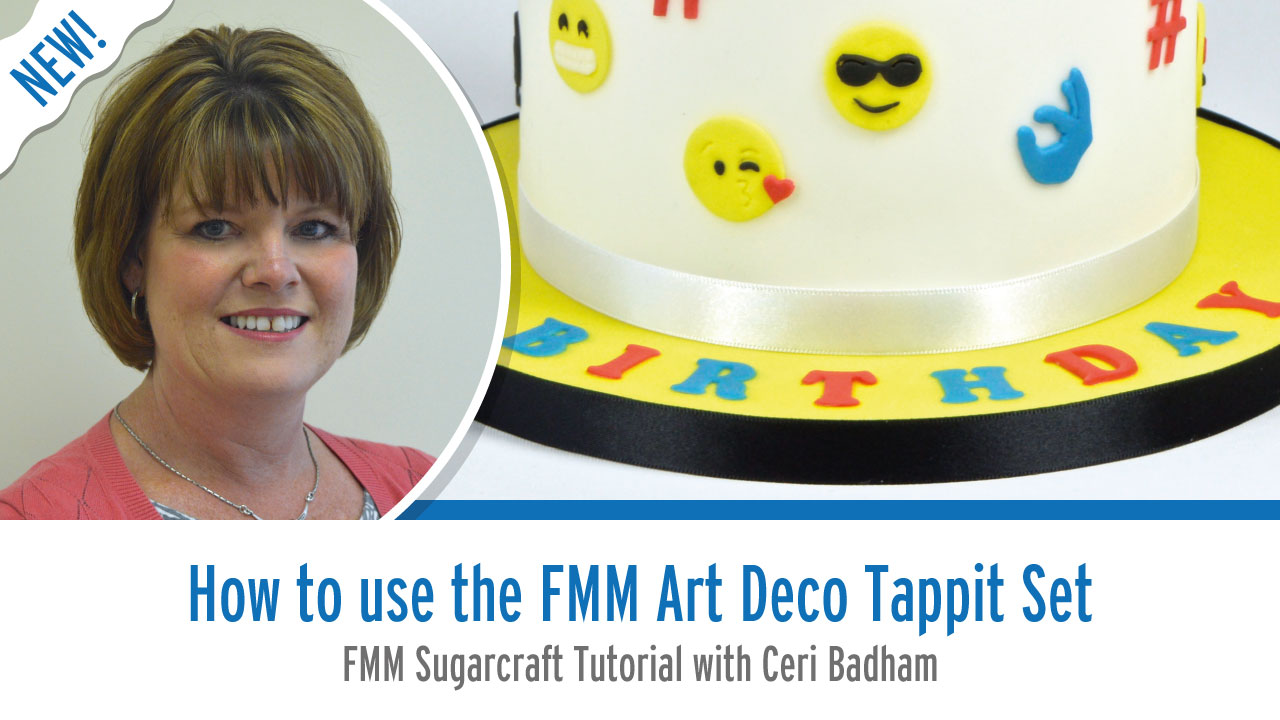 How to use The Art Deco Tappit Set from FMM