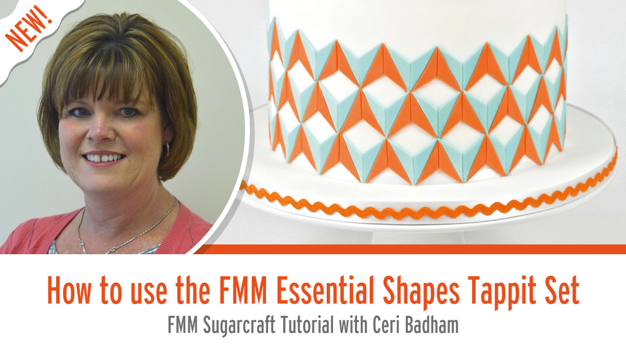 How to use The Essential Shapes Tappit Set from FMM