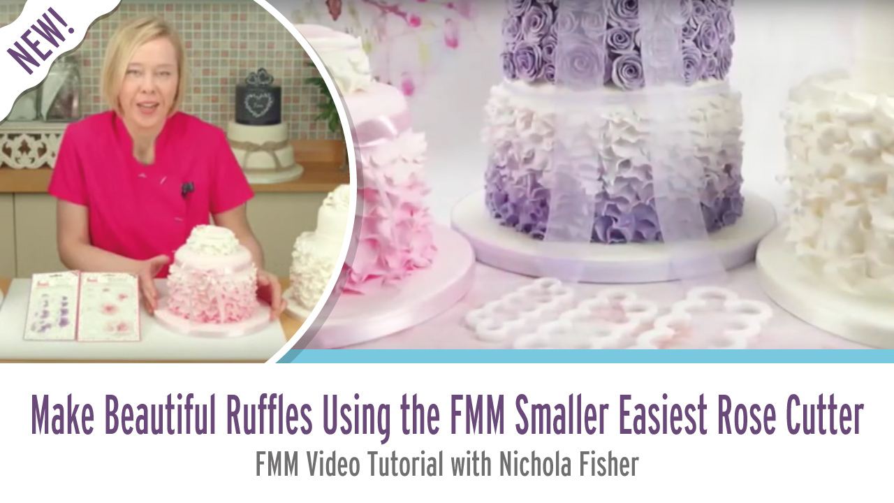 How to Make Beautiful Ruffles Using Smaller Easiest Rose Cutter