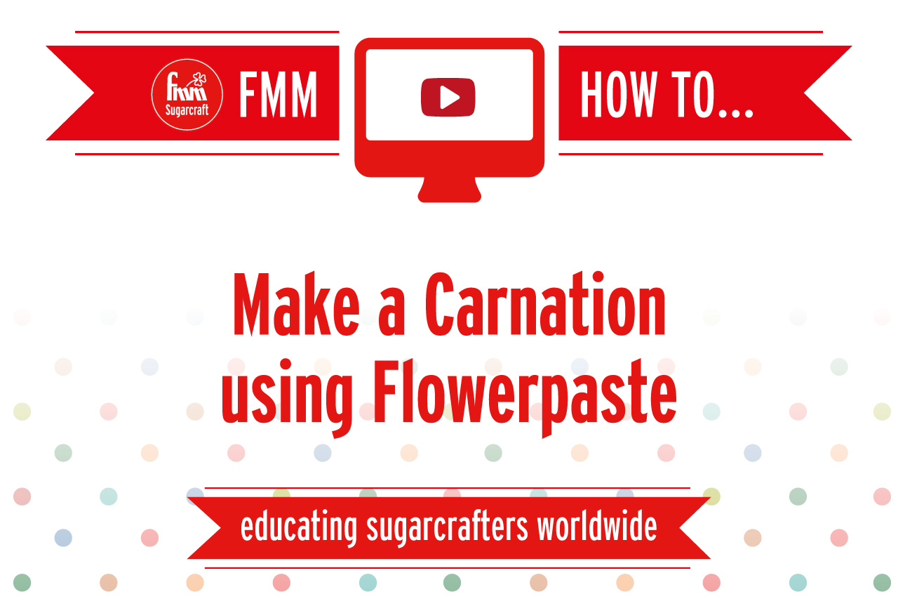 Make a Carnation Using Flowerpaste