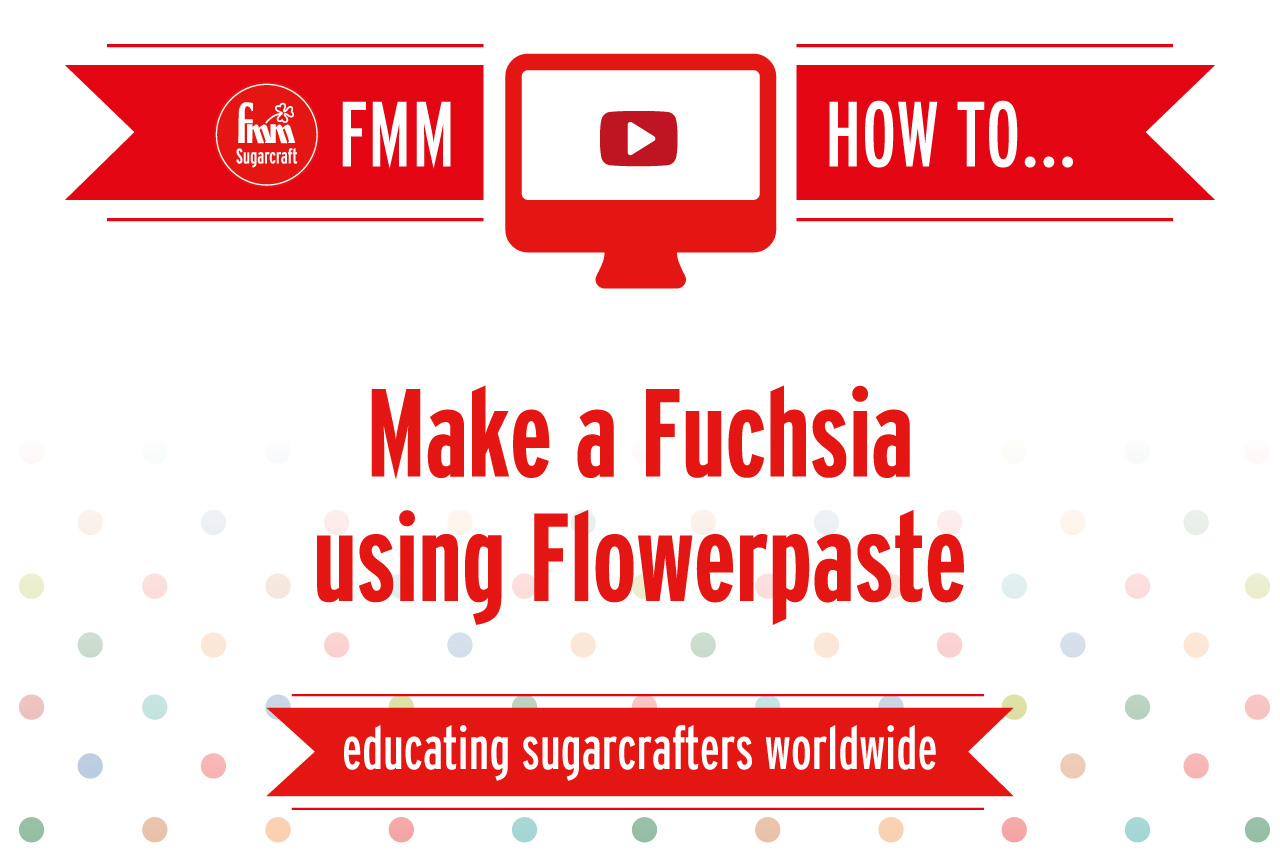 Make a Fuchsia using Flowerpaste