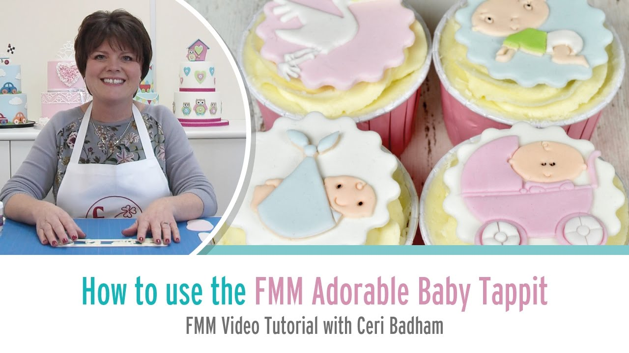How to use the FMM Adorable Baby Motifs Tappit with Ceri Badham