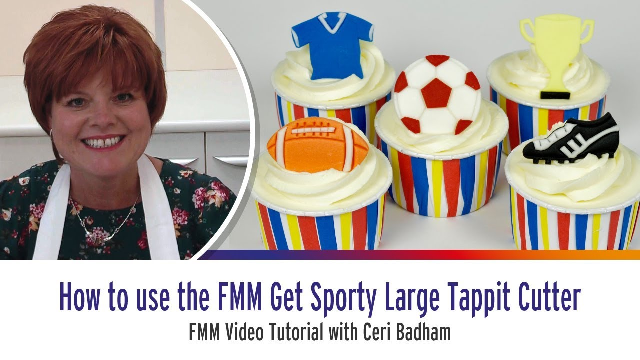 How to use the FMM Get Sporty Large Tappit Cutter