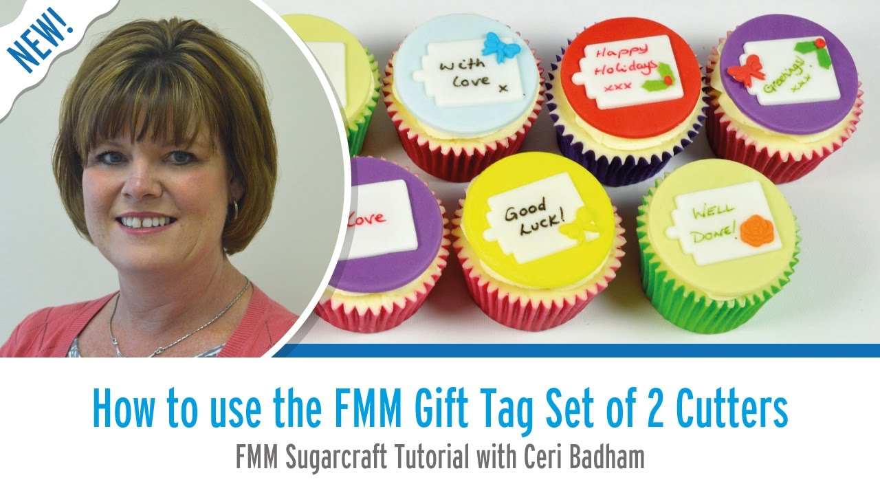 How to use the FMM Gift Tag Cutter Set with Ceri Badham
