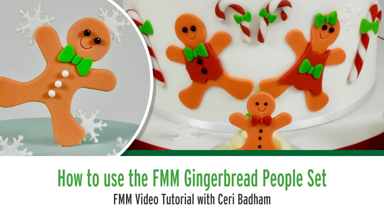 How to use the FMM Gingerbread People Set with Ceri Badham