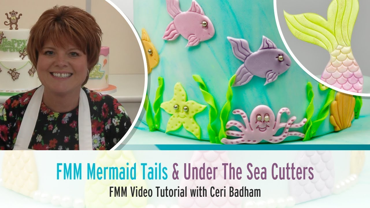 How to use the FMM Mermaid Tails + Under The Sea Cutter Set