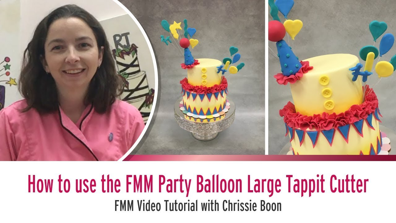 How to use the FMM Party Balloon Large Tappit Cutter