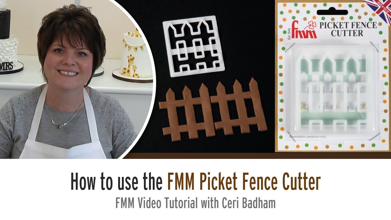 How to use the FMM Picket Fence Cutter with Ceri Badham