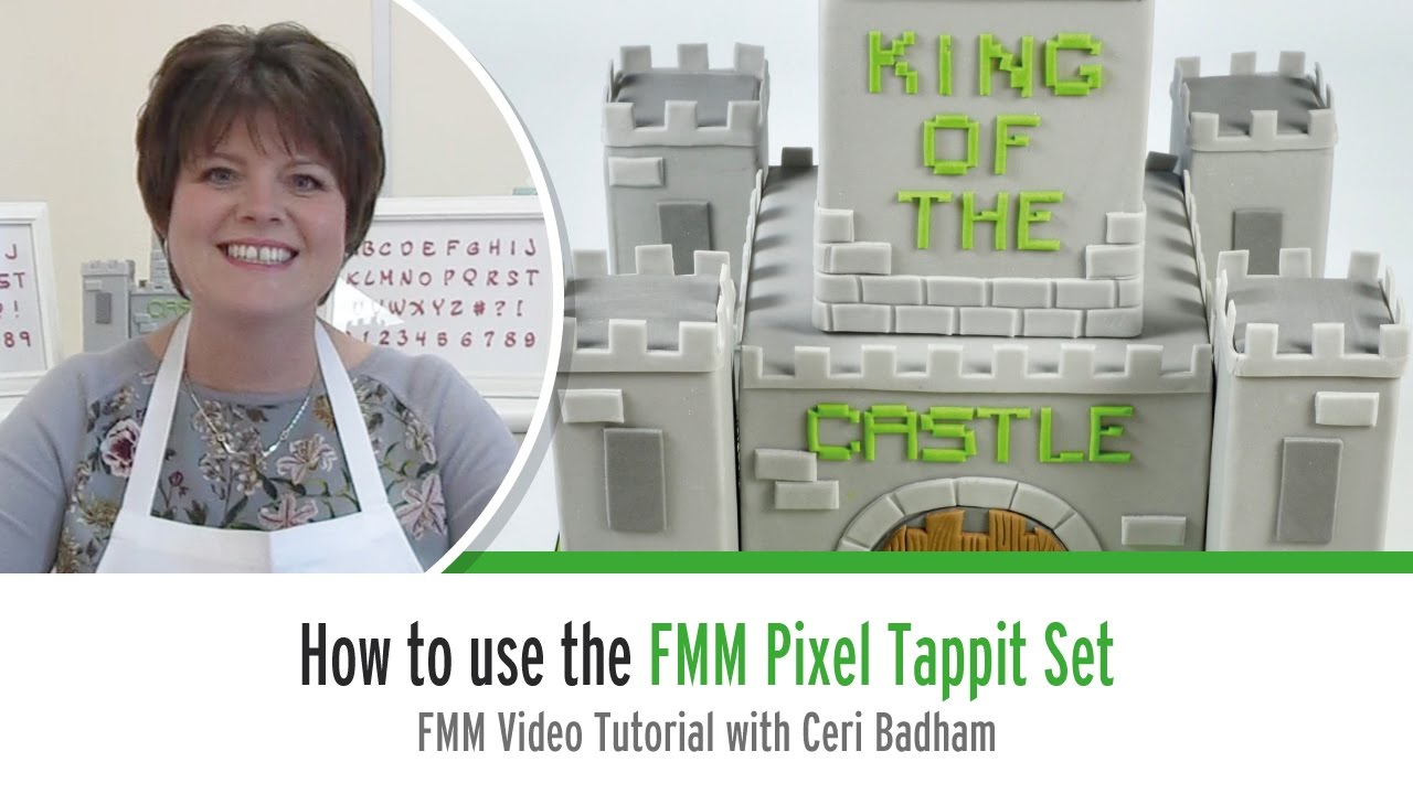 How to use the FMM Pixel Tappit Set with Ceri Badham