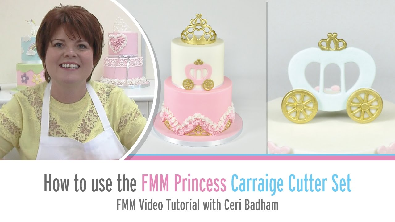 How to use the FMM Princess Carriage Cutter Set with Ceri Badham