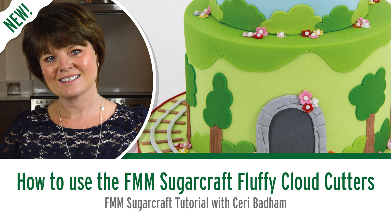 How to use The Fluffy Cloud Cutters from FMM Sugarcraft